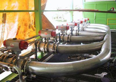 Planta de tratamiento de Aguas. Tequila Sauza Jalisco